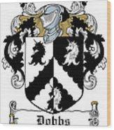 Dobbs Coat Of Arms Irish Wood Print