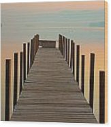 Dock Of The Bay Wood Print
