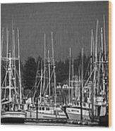 Docked Wood Print