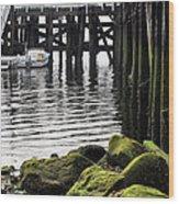 Dockside 2 Wood Print by JC Findley