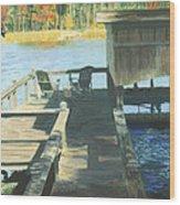 Docktime Wood Print
