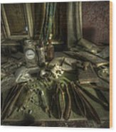 Doctor Death Wood Print