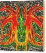 Doctor Octopus Wood Print