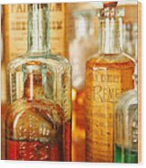 Doctor - Remedies For Hoarseness  Wood Print