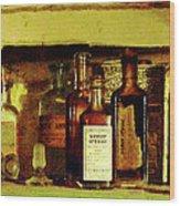 Doctor - Syrup Of Ipecac Wood Print by Susan Savad