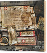 Doctor - The First Aid Kit Wood Print