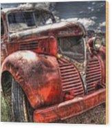 Dodge Bootlegger Truck Wood Print