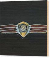 Dodge Brothers Emblem Wood Print