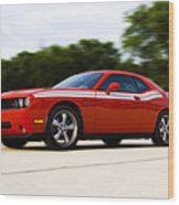Dodge Challenger Wood Print