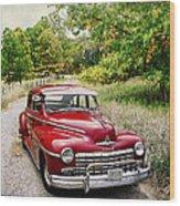 Dodge Country Wood Print