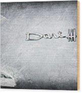 Dodge Dart 440 Emblem Wood Print