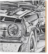 Dodge Dart Wood Print