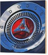 Dodge Division Wood Print