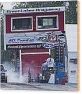 Dodge Omni Glh Vs Rwd Dodge Shadow - 03 Wood Print