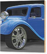 Dodge Pickup Wood Print by Mike McGlothlen