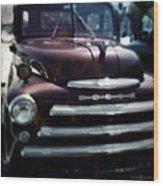 Dodge Pickup Wood Print