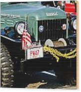 Dodge Power Wagon Front End Wood Print
