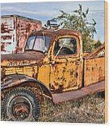 Dodge Power Wagon Wrecker Wood Print