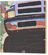 Dodge Ram  Wood Print