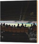 Dodger Stadium 2 Wood Print