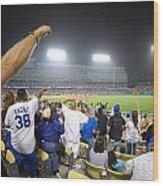 Dodger Stadium 3 Wood Print