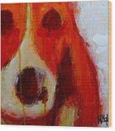 Dog 2  Wood Print