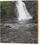 Dog Creek Falls Wood Print