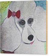 Dog Lover Wood Print