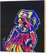 Dog Tibetin Lhasa Apsos  Wood Print