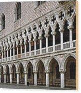 Doge's Palace And Basilica San Marco Wood Print