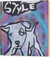 Doggy Style 2 Wood Print