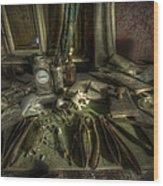 Doktor Dunkel Wood Print