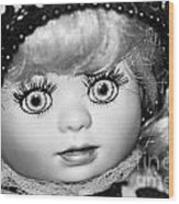 Doll 11 Wood Print