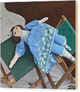 Doll And Camp Chairs 1800s Wood Print