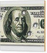 Dollar Drive By Wood Print