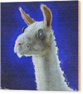 Dolly Llama... Wood Print