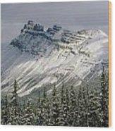 1m3538-dolomite Peak Wood Print