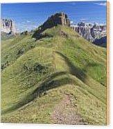 Dolomites - Crepa Neigra Wood Print