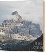 Dolomites Of Italy Wood Print