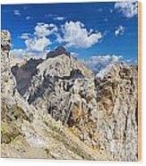 Dolomiti - Costabella Mount Wood Print