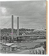 Dome And Bridge Wood Print