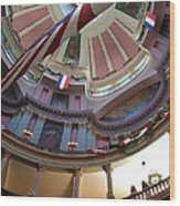 Dome Of The Old Courthouse Wood Print