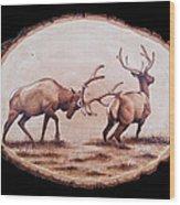 Dominance Wood Print