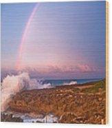Dominican Rainbow Wood Print