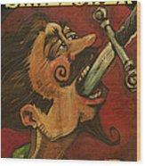 Dominick The Daring Poster Wood Print
