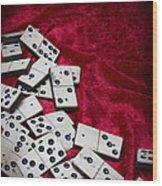Dominoes Wood Print