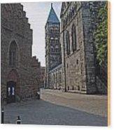 Domkyrkan Lund Se 12 Wood Print