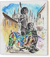Don Quijotes New Pet Wood Print
