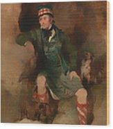 Donald Mcintyre Wood Print