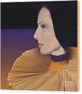 Donatella Wood Print